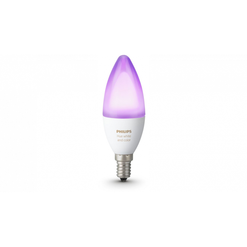 Philips Hue White and Color Ambiance Ampoule flamme E14